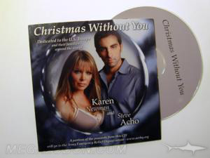 christmas album cd packaging