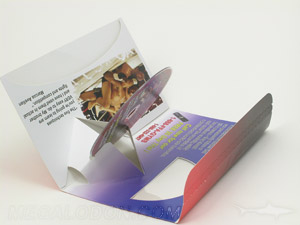 dvd mailer cellophane window