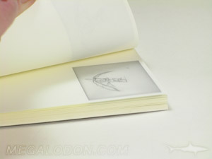 notebook flipbook art perfect bound