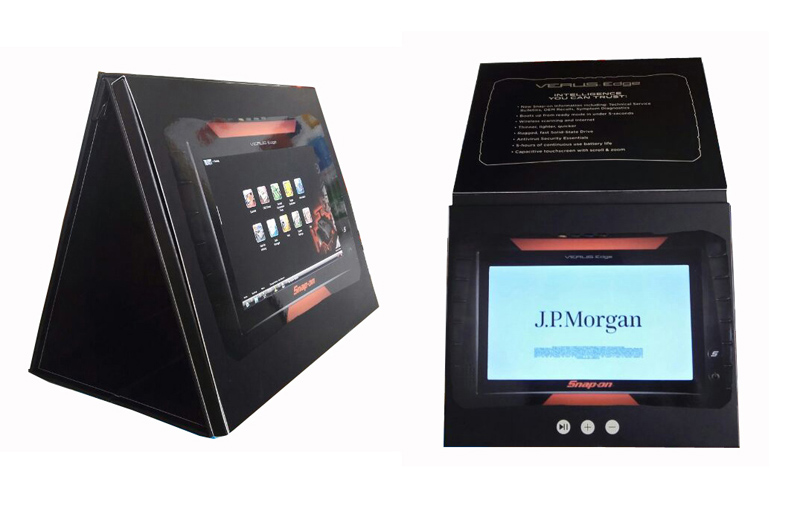 video lobby display stand kiosk