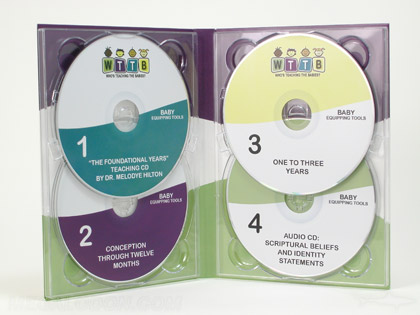 christian ministry media printing publishing multidisc 4 cd set