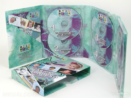 Ministry disc packaging for multi cd dvd
