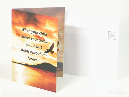 cd greeting card envelope