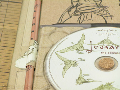 pencil cd dvd packaging set