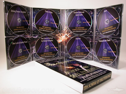 christian publishing dvd multidisc set printed packaging