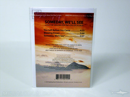 christian cd greeting card music credits