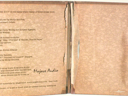 Distressed paper album christian printing packaging publishing